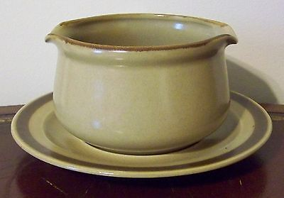 Hearthside Dogwood Gravy Boat & Underplate Double Spouted Vintage Made in Japan