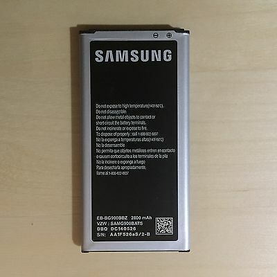 Genuine Original OEM Samsung Galaxy S5 Battery 2800mAh