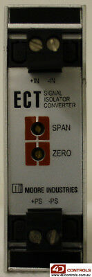 Moore Industries ECT/4-20MA/4-20MA/12-42DC Signal Isolator and Converter - Used