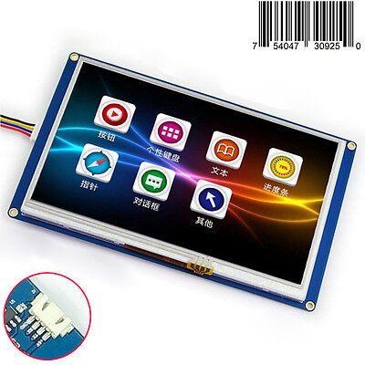 """7.0"""" Nextion HMI Intelligent Smart USART Serial Touch Panel LCD Module Display"""