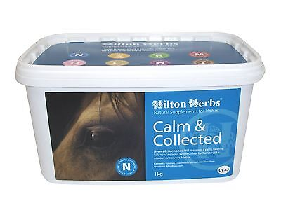 Hilton Herbs Calm & Collected Equine Horse Digestion & Behaviour