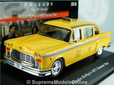 Phoebe Buffay's 1977 Checker Taxi Car Friends Tv Series 1/43 Size Type Y0675J{:}