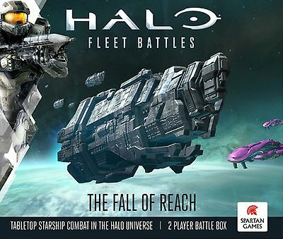 Halo: Fleet Battles, The Fall of Reach | Starterbox, Englisch NEU&OVP