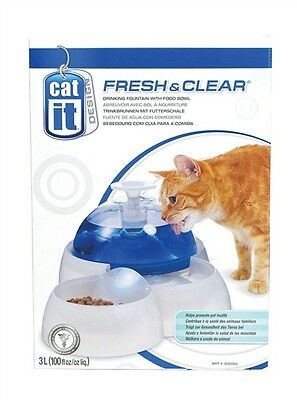 Catit Fresh & Clear Automatic Dome Drinking Fountain for Cats and Puppies