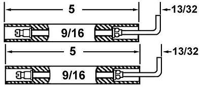 Crown 26887-02 (2 Pack) Of Power Flame Gas Electrodes For C,J,CG Burners X04210