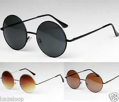 New Quality Classic Round Sunglasses Mens Womens UV400