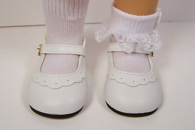 WHITE Classic Doll Shoes For Chatty Cathy More Colors Available (Debs)