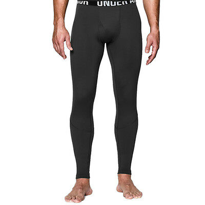 Under Armour Mens Coldgear Infrared Tactical Fitted Compression Leggings Black