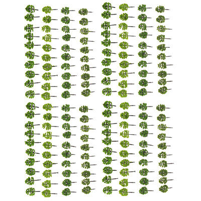 160pcs Mixed Trees Model Train Layout Street Scenery Wargame Diorama Z Scale 5cm