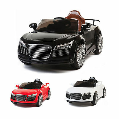 Children Kids Audi Style 12v Electric Battery 2 Speed  Ride on Toy Car + Remote