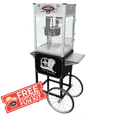 Funtime Palace Popper 8 OZ Commercial Bar Style Popcorn Popper Machine - FT865PP