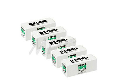 5 Rolls Ilford HP5 Plus 120 Black and White Negative Print Film ISO 400 NEW 2019