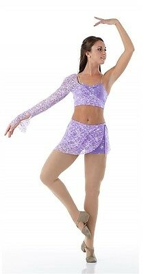 PROMISE Contemporary Lyrical Dress LILAC Ballet Tap Dance Costume Adult X-Large