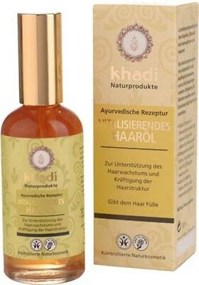 Khadi Herbal Vitalising Hair Oil 100ml FREE **P&P**