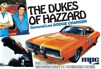 MPC 1/25 '69 General Lee Dodge Charger Model Kit MPC706