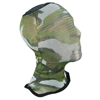 Spandoflage Lightweight Army Military Airsoft Mesh Mask Balaclava Woodland Camo