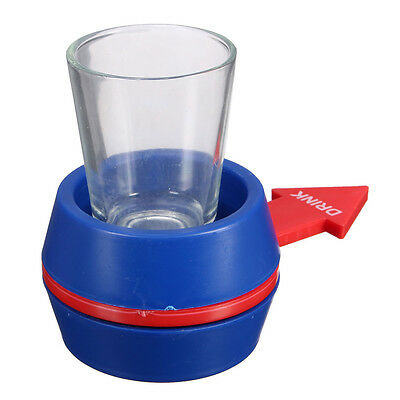 Novelty Spinner Spin The Shot Glass Drinking Game Fun Party Gift