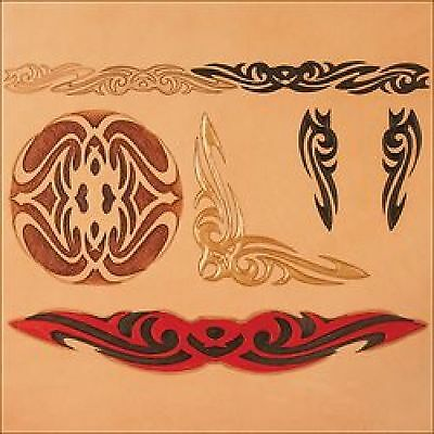 Tribal Craftaid Leather Carving Template 76632-00 by Tandy Leather