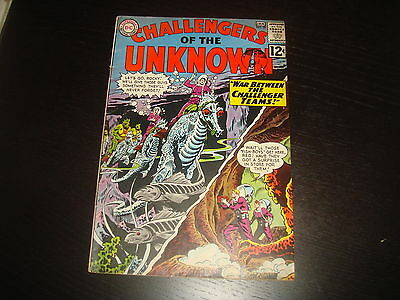 CHALLENGERS OF THE UNKNOWN #29  Silver Age  DC Comics 1963  FN-