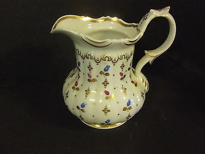 Antique  Vintage Bavarian Germany Cream Milk Small Pitcher