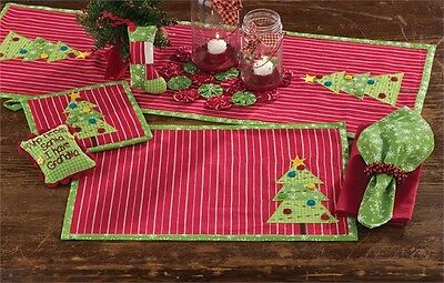 Homemade Holiday Christmas Placemat