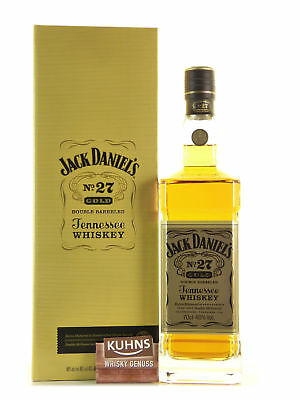 Jack Daniels No.27 Gold 0,7l, alc. 40%, USA Tennessee Whiskey
