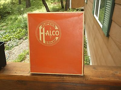 Halloween 1940's Halco Masquerade Costume Box ONLY 1005 Gypsy Woman Vintage