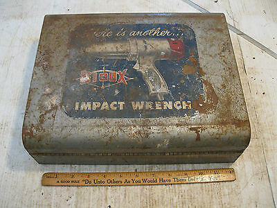 "Vintage Sioux 1/2"" Electric Impact Wrench 330 with case not working"