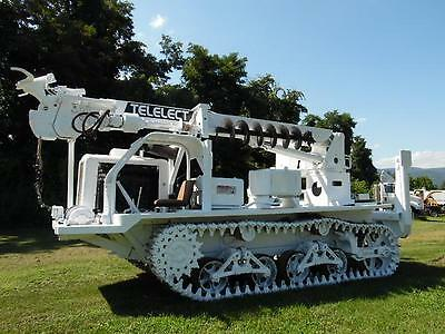 Telelect Commander 4000 Series Track Mounted Digger Derrick