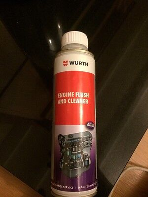 Wurth Engine Flush And Cleaner Germany Oil Service Treatment Additive