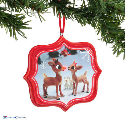 Dept 56 Rudolph Red Nosed Reindeer 4045008 You're Cute Sentiment 2015