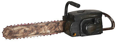 Chainsaw Halloween Prop Fake Rusty Looking Texas Massacre Horror Haunted House