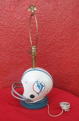 Vintage Miami Dolphins Football Sports Rawling USA Table Lamp   ✞