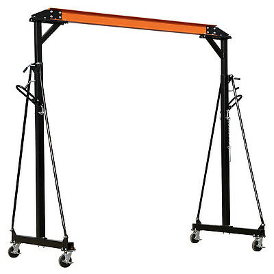 New Sealey SG1000 1Tonne 1 Ton Adjustable Portable Gantry Engine Lift Crane