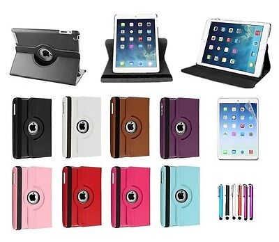 New 360 Degree Rotating Stand Case Cover For New Apple iPad Air 1st Generation