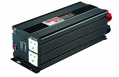 Maplin DC To AC 5000W Power Inverter Automatic Alarm Low Battery Overheating New