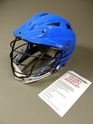 Cascade CPV-R Adjustable Fit Lacrosse Helmet Royal/White (NEW) Retails for: $150