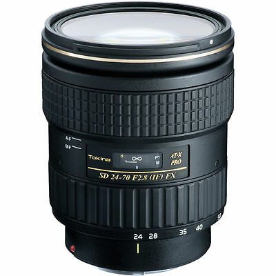 Tokina AT-X 24-70mm f/2.8 PRO FX Lens for Canon EF