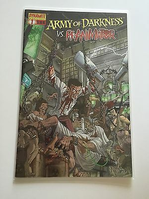 Army of Darkness vs. Re-Animator Comic  (2005) #1A  Dynamite Entertainment