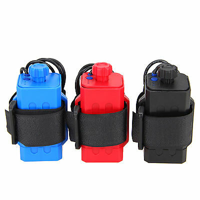 NEW 4 x18650 Water Resistant Battery Pack Case House Cover For Bike Bicycle Lamp