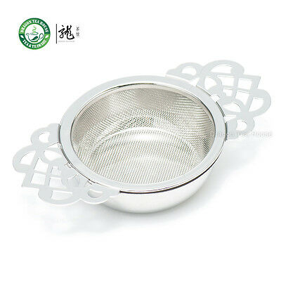 Stainless Steel Fine Mesh Tea Strainer Filter Infuser with Drip Tray