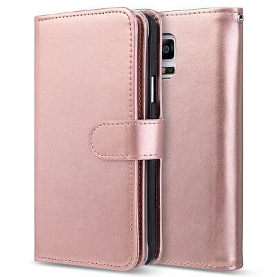 For Samsung Galaxy Note 5/4 Luxury Magnetic Cover Stand Wallet Leather Case