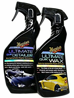 Meguiar`s Ultimate Quik Detailer & Quik Wax im Set