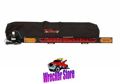 """TowMate 32"""" WIRELESS TOW LIGHT with TURN SIGNALS & BRAKE LIGHTS for RV, Camper"""