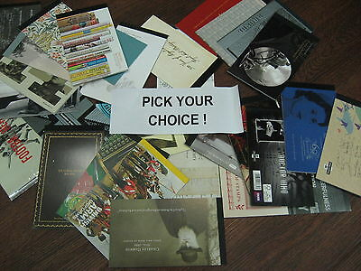 PRESTIGE BOOKLETS DX36 - DY16   Pick your books sold individually or multiples