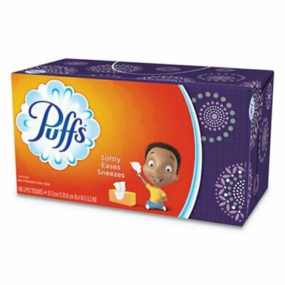 Puffs 87611 White 2-Ply Facial Tissues, 24 Boxes (PGC87611CT)