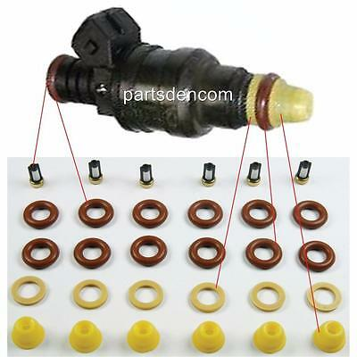 Fuel Injector Service Kit Suit Holden Commodore Vs V6 3.8L 95-97 Injectors