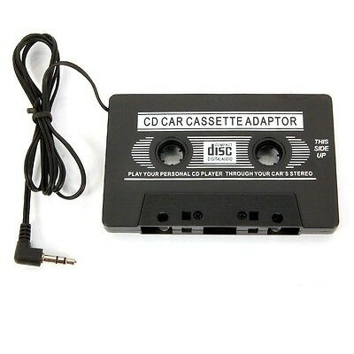 3.5mm AUX Car Audio Cassette Tape Adapter Transmitters for iPhone MP3 IPod CD MD