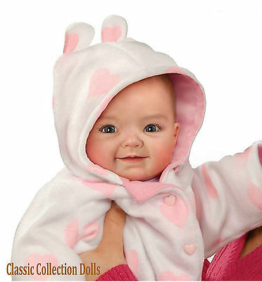 "Ashton Drake ""SAVANA"" - LIFELIKE WEIGHTED BABY DOLL - NEW DESIGN - IN STOCK NOW"