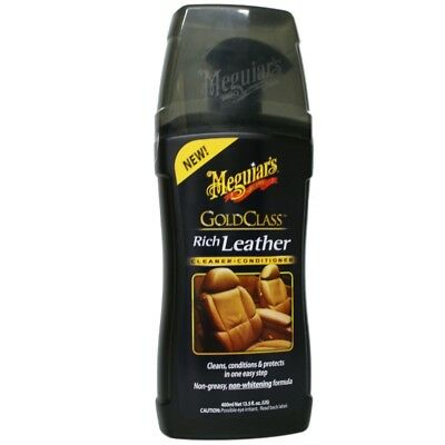 Meguiar`s  Gold Class Rich Leather Cleaner & Conditioner 400ml  33,25 EUR/Liter